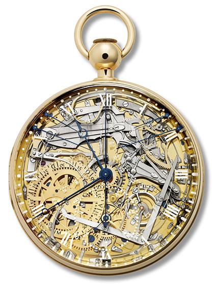 """""""Breguet número B1160"""", réplica del reloj """"número 160"""" de 1827, 2005-2008,"""