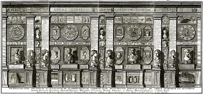 "Giuseppe Bianchini, ""Demonstratio Historiae Ecclesiasticae (…)"", 1752-1754."