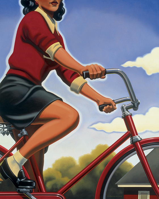 "Kenton Nelson, ""Today's Promise"", 2007."