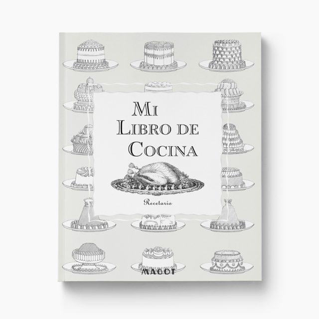 Mi Libro de Cocina : Recetario – Para dividir en las secciones de tu elección