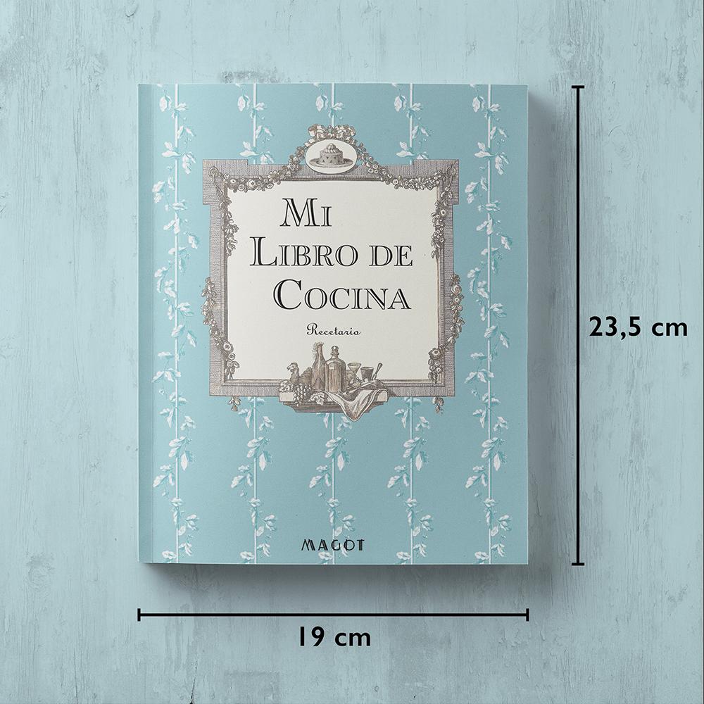 Mi Libro de Cocina : Recetario - by MAGOT Books - tamaño del libro