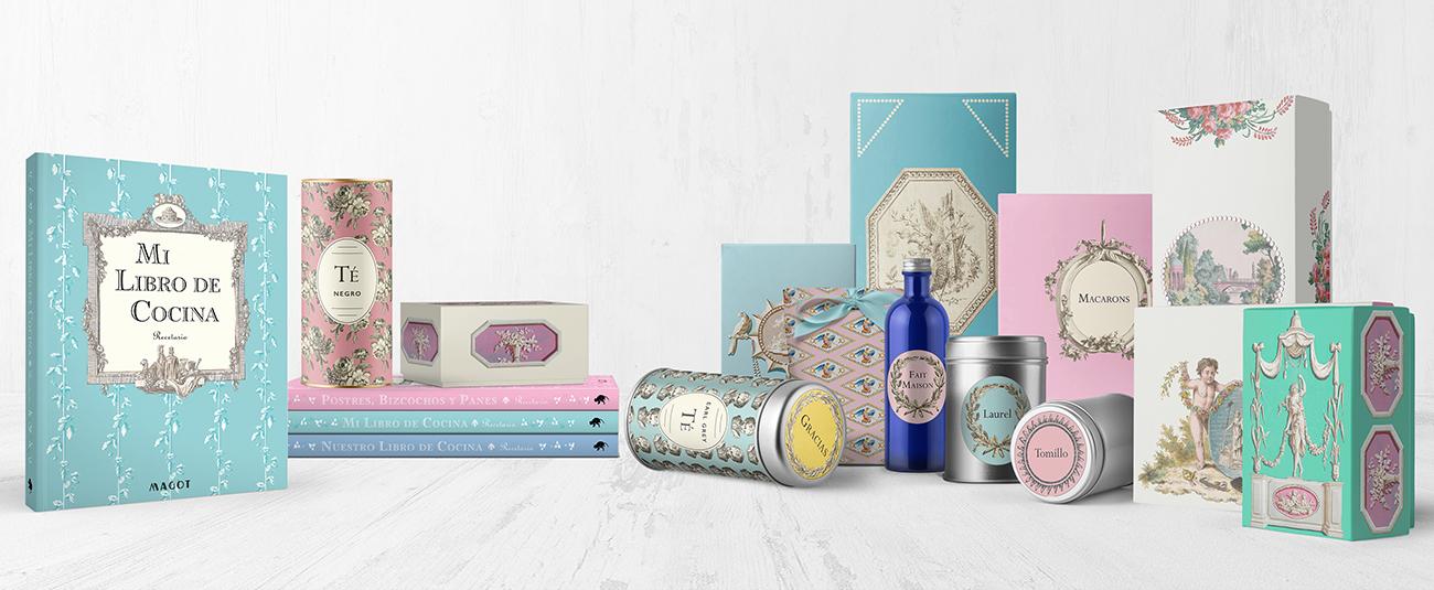 MAGOT books and paper goods - diseño de publicaciones y papelería