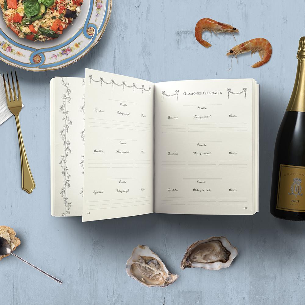 Mi Libro de Cocina : Recetario - by MAGOT Books - Sección Ideas de menú