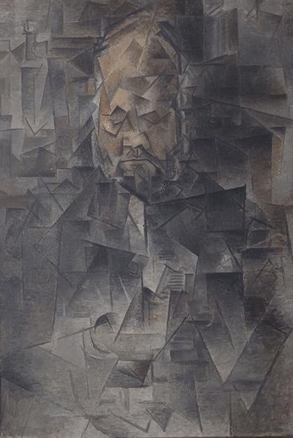 """Pablo Picasso, """"Ambroise Vollard"""", 1910."""