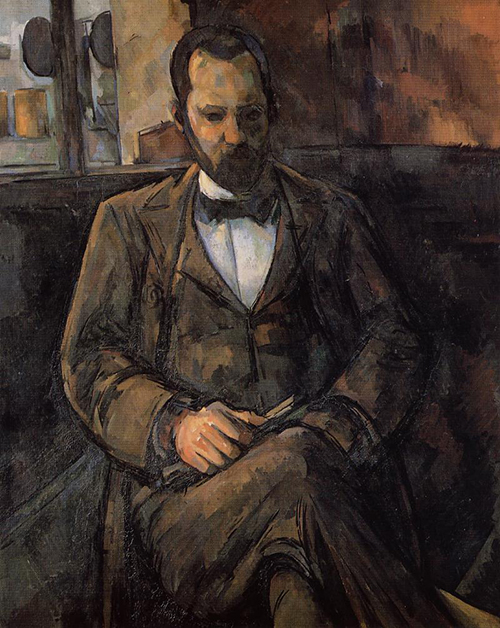"Paul Cézanne, ""Retrato de Ambroise Vollard"", 1899."