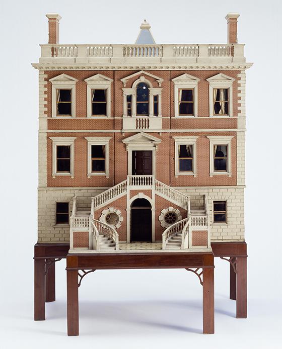 """Casa de muñecas """"Tate Baby House"""", 1760."""