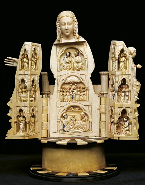 Virgen de Allariz, tercer cuarto del siglo XIII.